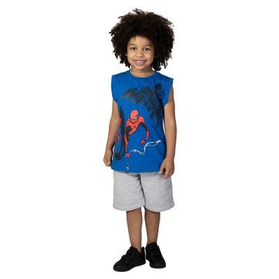 Camiseta-Machao---Meia-Malha---Azul-Royal---Silk---Marvel---Spider-Man---Disney---4