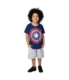 Camiseta-Manga-Curta---Meia-Malha---Azul-Marinho---Marvel---Capitao-America---4