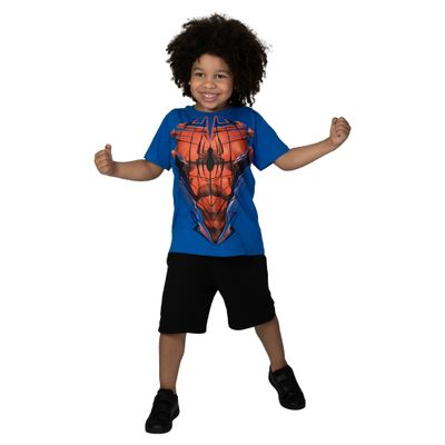 Camiseta-Manga-Curta---Meia-Malha---Azul-Royal---Marvel---Spider-Man---Disney---6