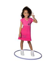 Vestido-Manga-Curta-em-Cotton---Estampa-3D---Rosa---Minnie-Mouse---Disney---6