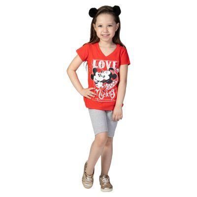 Blusa-Manga-Curta---Meia-Malha---Vermelho---Mickey-Mouse---Disney---4