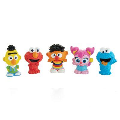 Conjunto-de-Mini-Figuras---Vila-Sesamo---Elmo-Abby-Beto-Enrique-e-o-Monstro-da-Bolacha---Mattel