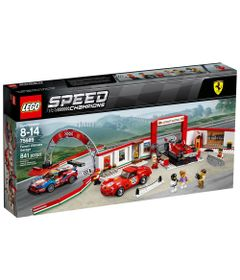 LEGO-Speed-Champions---Ferrari---Ultimate-Ferrari---75889