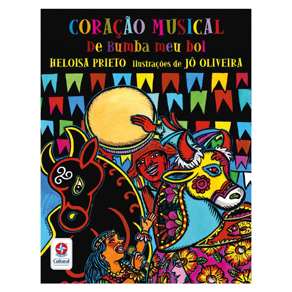 Livro Infantil - Coração Musical de Bumba Meu Boi - Estrela