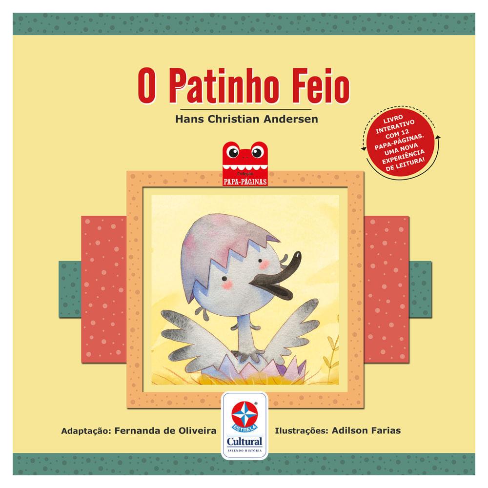 Livro Infantil - O Patinho Feio - Estrela