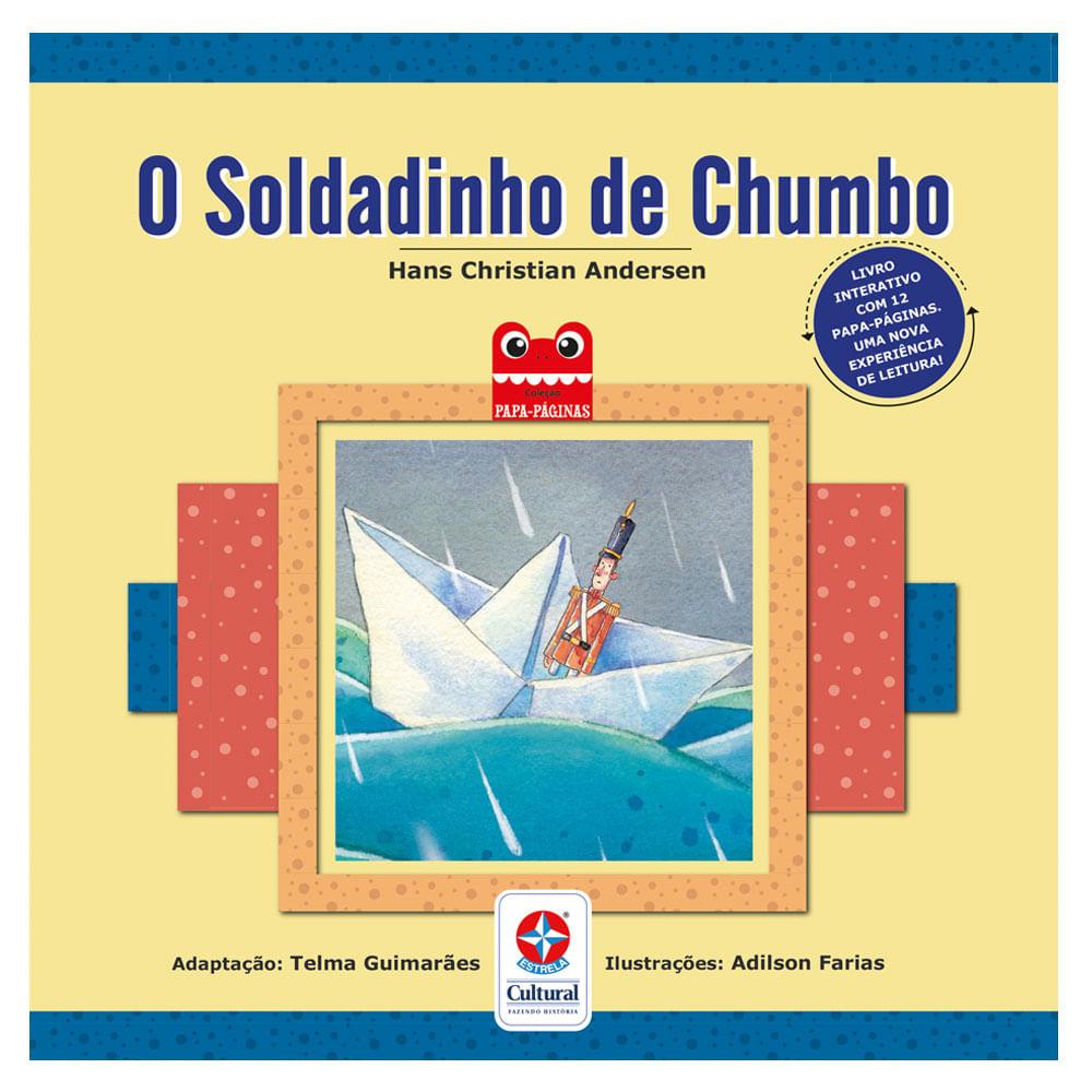 Livro Infantil - O Soldadinho de Chumbo - Estrela