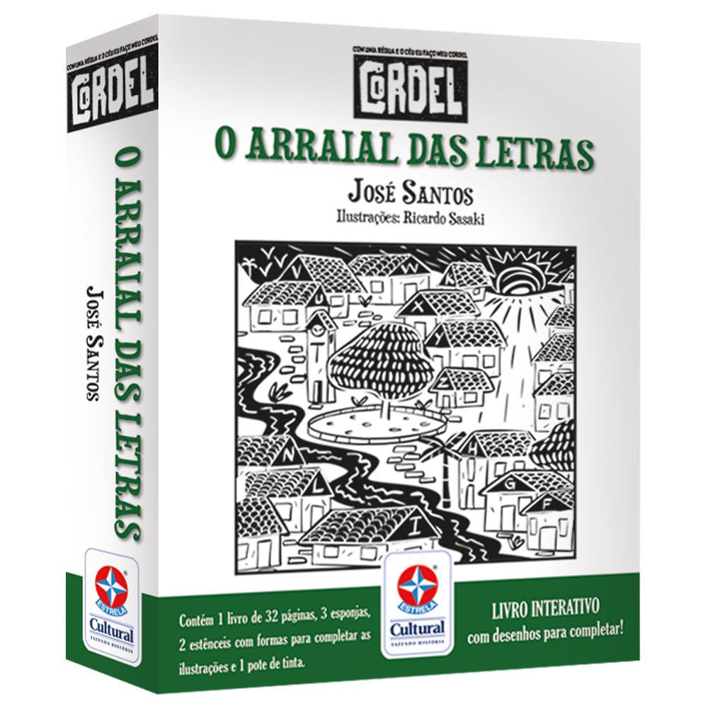 Livro Interativo - Cordel - O Arraial das Letras - Estrela