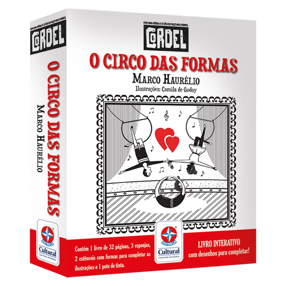 Livro Interativo - Cordel - O Circo das Formas - Estrela