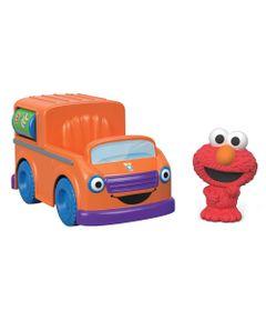 Mini-Figura-e-Veiculo---Vila-Sesamo---Elmo---Mattel