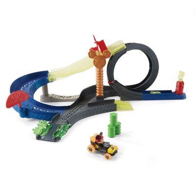 Pista-e-Veiculo---Disney---Mickey-Mouse---Conjunto-Super-Looping---Mattel