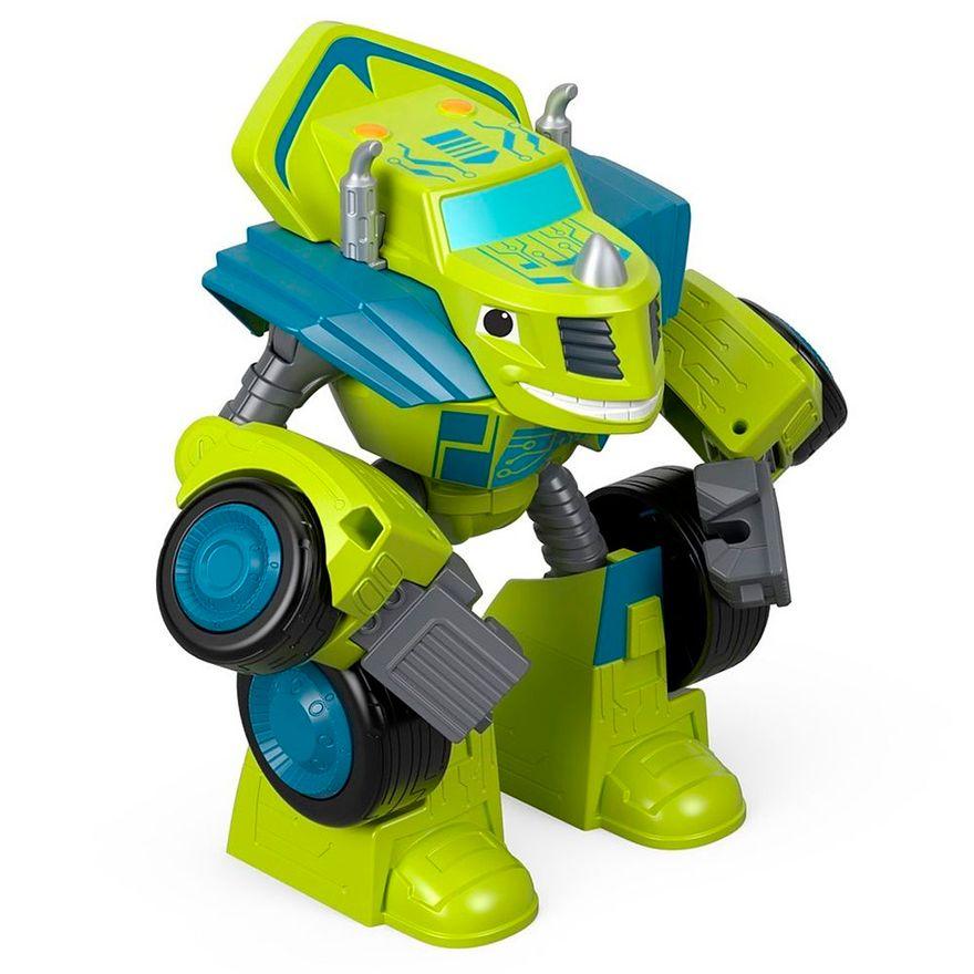 Veiculo-Transformavel---Blaze-Robot-Riders---Verde---Fisher-Price