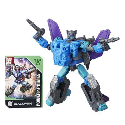 Mini-Figura-Transformavel---15Cm---Transformers---Power-of-The-Primes---Blackwing---Hasbro