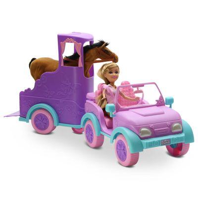 Mini-Boneca---Sparkle-Girlz---Passeio-Equestre---DTC