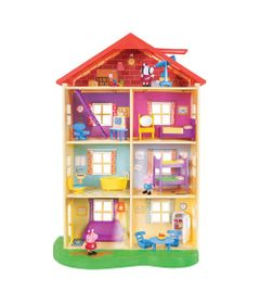 Playset-e-Mini-Figura---Peppa-Pig---Casa-da-Familia-Pig---DTC