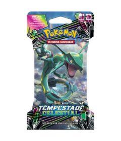 Deck-Pokemon---Blister-Unitario---Sol-e-Lua---Tempestade-Celestial---Rayquaza-GX---Copag