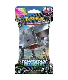Deck-Pokemon---Blister-Unitario---Sol-e-Lua---Tempestade-Celestial---Stakataka-GX---Copag