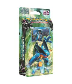 Deck-Pokemon---Starter-Deck---Sol-e-Lua---Tempestade-Celestial---Swampert---Copag