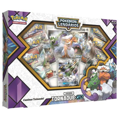 Jogo-Pokemon---Box-Pokemon-Lendarios---Colecao-Tornadus-GX---Copag