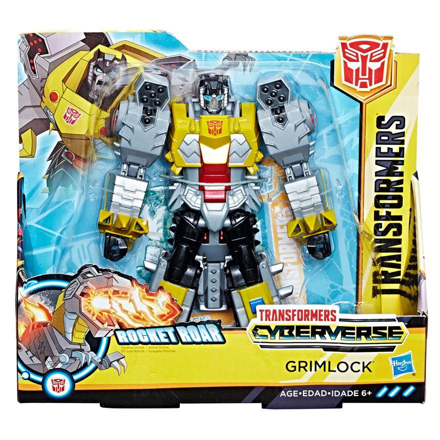 Figura-Transformers---Cyberverse---Rocket-Roar---Grimlock---Hasbro