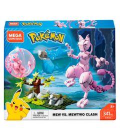 Blocos-de-Montar---Mega-Construx---Mew-vs-Mewtwo---Mattel
