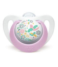 Chupeta-de-Silicone---Clean-N3---18-a-36-M---Genius-Design---Girl---NUK