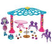Playset-e-Boneca-Articulada---Enchantimals---Patter-Peacock-e-Quiosque---Mattel