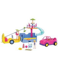 Playset-e-Mini-Boneca---Polly-Pocket---Mega-Trailer-da-Polly---Mattel