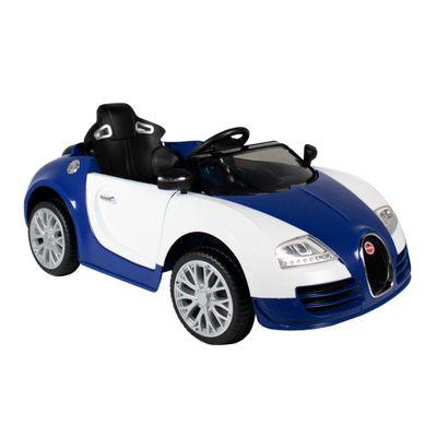 Veiculo-Eletrico---12V---Branco-e-Azul---Bel-Fix