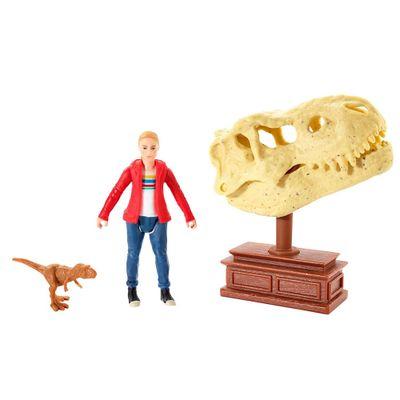 Figuras-Basicas---Jurassic-World-2---Maisie-e-Tiranossauro-Rex---Mattel
