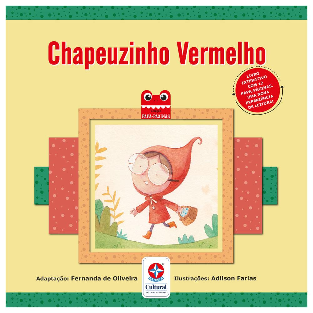 Livro Interativo - Chapéuzinho Vermelho - Estrela