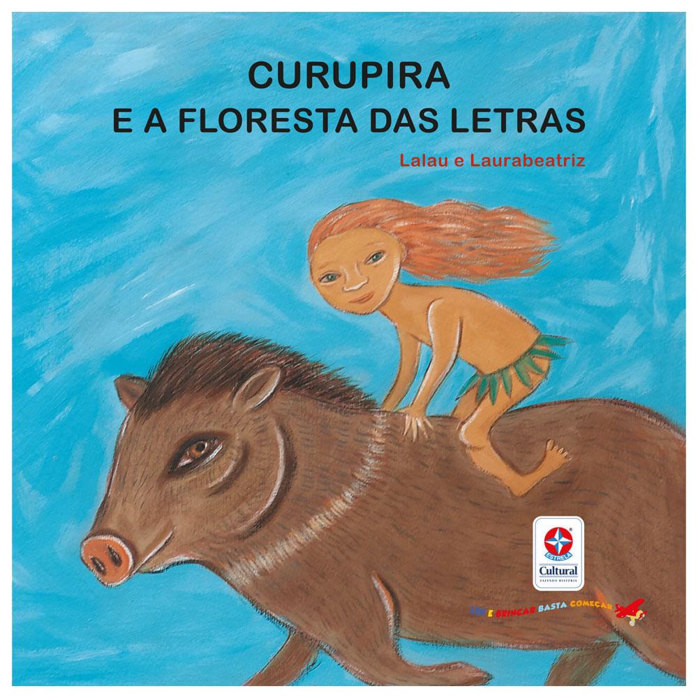 Livro Infantil - Curupira e a Floresta das Letras - Estrela