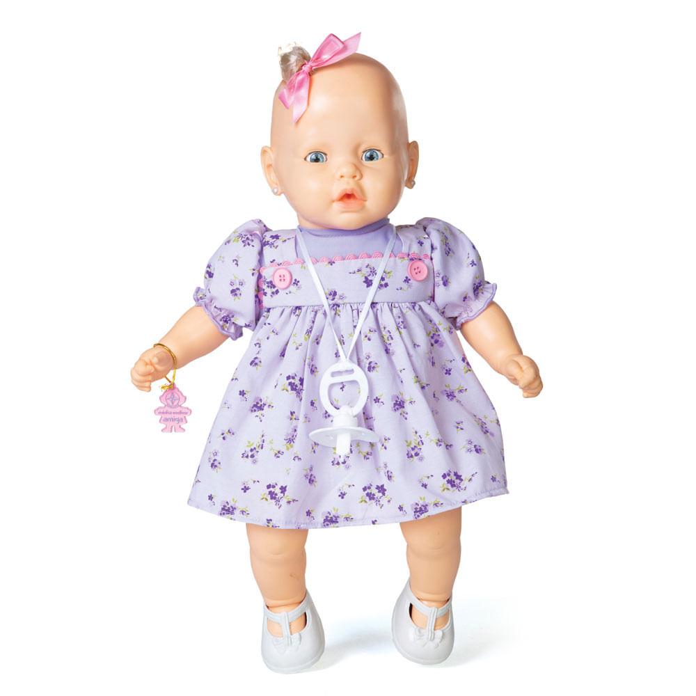 Boneca - Meu Nenezinho - Vestido Lilás - Estrela