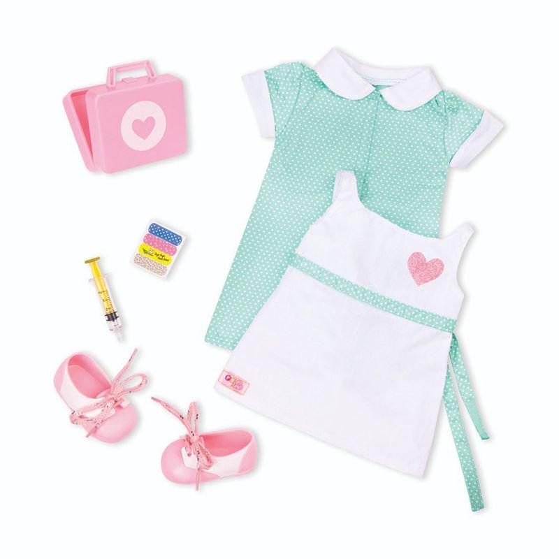 3adf3fee8 Acessórios de Boneca - Our Generation - Roupa de Enfermeira - Ri Happy  Brinquedos