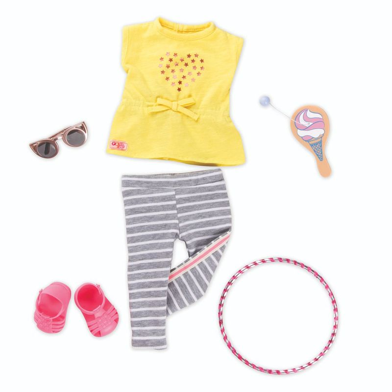 82338febd Acessórios de Boneca - Our Generation - Roupa de Passeio Amarela - Ri Happy  Brinquedos