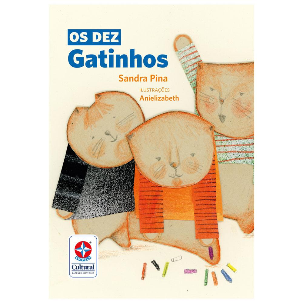 Livro Infantil - Os Dez Gatinhos - Estrela