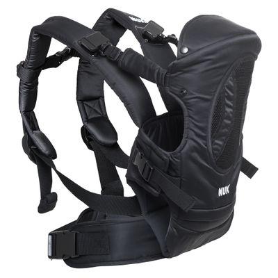 Canguru-4-em-1---Carrier-Baby---Supreme-Confort---Preto---NUK