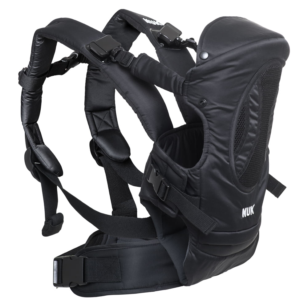 Canguru 4 em 1 - Carrier Baby - Supreme Confort - Preto - Nuk