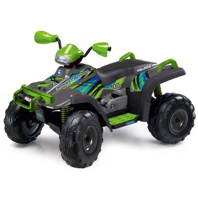 Quadriciclo-Eletrico---12-V---Polaris-Sportsman-700---Twin-Lime---Peg-Perego