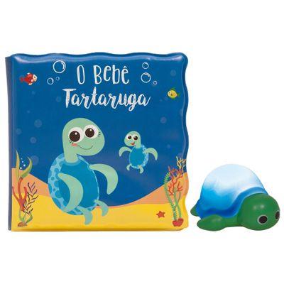 Livro-de-Banho-e-Mini-Figura---O-Bebe-Tartaruguinha---Buba