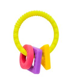 Mordedor-de-Silicone---Formas-Geometricas---Argola-Amarela---Buba