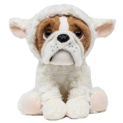 Pelucia---22-Cm---Cachorrinho---Bulldog-Sentado---Ovelhinha---Buba