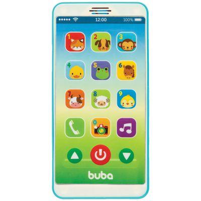 Telefone-Infantil---Baby-Phone---Azul---Buba