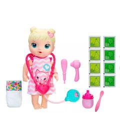 Kit-Boneca-Baby-Alive-e-Acessorios---Cuida-de-Mim-e-Refil-de-Comida---Loira---C2691---Hasbro