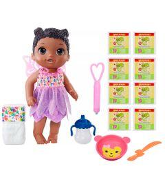 Kit-Boneca-Baby-Alive-e-Acessorios---Hora-da-Festa-e-Refis-de-Comida-com-8Un---Negra---B9725---Hasbro