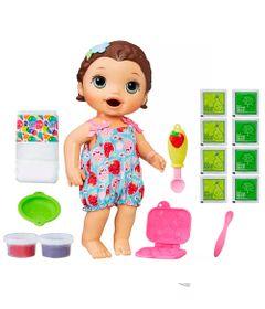 Kit-Boneca-Baby-Alive-e-Acessorios---Lanchinhos-Divertidos-e-Refil-de-Comida---Morena---C2698---Hasbro
