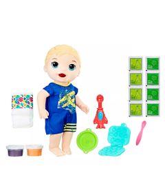 Kit-Boneco-Baby-Alive-e-Acessorios---Lanchinhos-Divertidos-e-Refil-de-Comida---Loiro---E1884---Hasbro