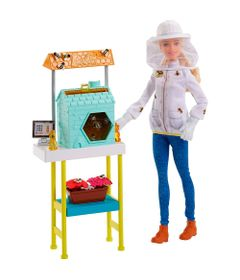Playset-e-Boneca-Barbie---Profissoes---Barbie-Apicultora---Mattel-1