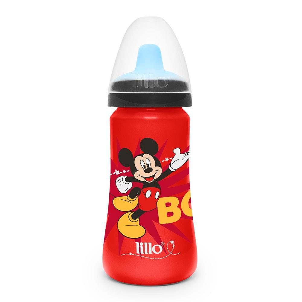 Copo de Treinamento - 300Ml - Disney - Colors - Mickey Mouse - Lillo