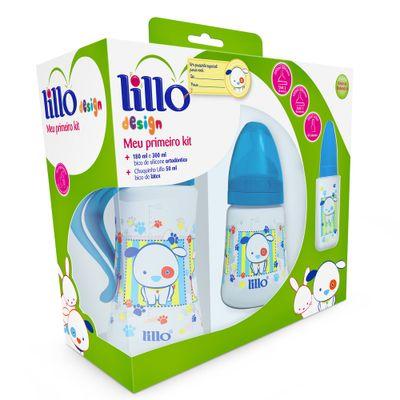 Conjunto-de-Mamadeiras---Meu-Primeiro-Kit---3-Pecas---Design---Azul---Lillo