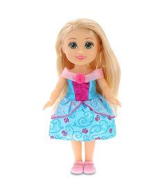 Mini-Boneca---Sparkle-Girlz---Sparkle-Tots---Princess---Vestido-Azul---DTC